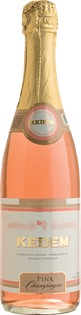 Kedem Pink Champagne 750ml - Case of 12